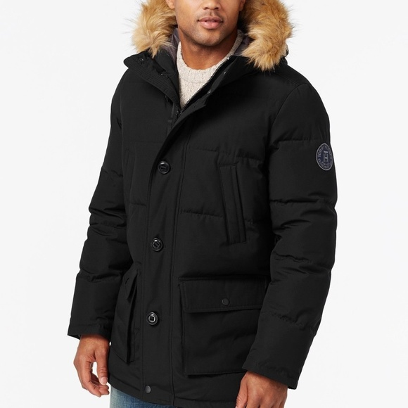 9ee64e95 Tommy Hilfiger Jackets & Coats | Arctic Cloth Full Quilted Jacket ...